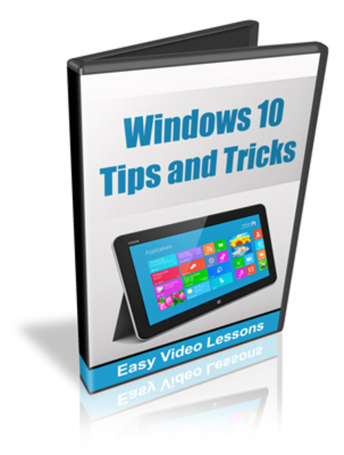 Product picture Windows 10 Tips and Tricks Video Course