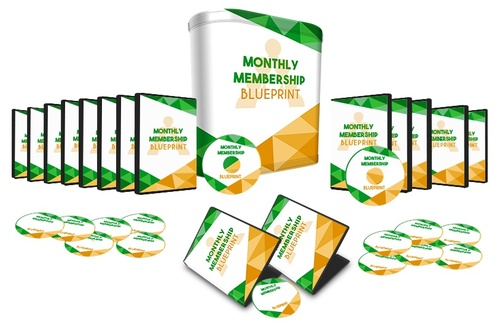 Product picture Monthly Membership Blueprint Upgrade  8 Videos Set